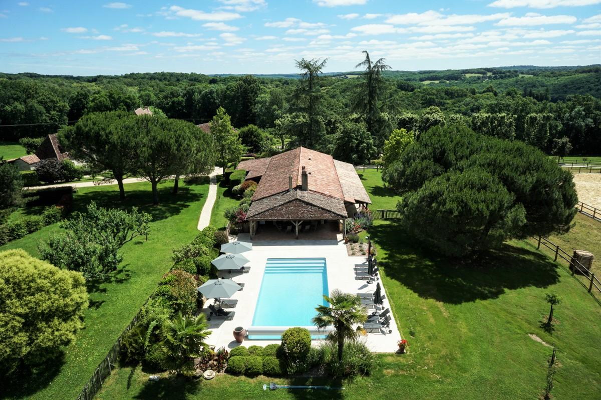 Gîte de charme Dordogne lavalette piscine chauffée
